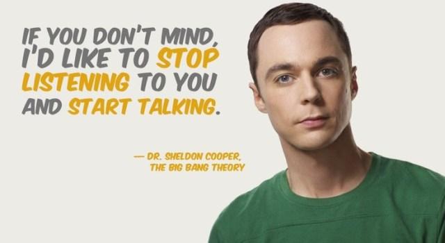 becoming a better listener sheldon cooper
