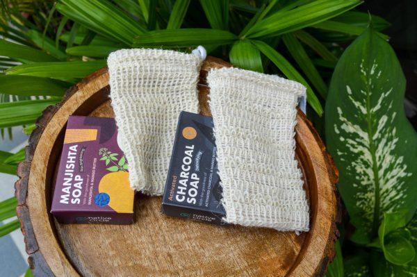 Organic soap soap saver combo buy india