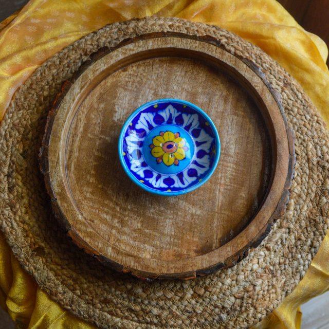buy agarbatti stand incense holder india blue pottery