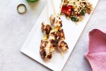Fork-In-The-Road Marinated Chicken Kebabs / Katie Workman / themom100.com / Photo by Mia