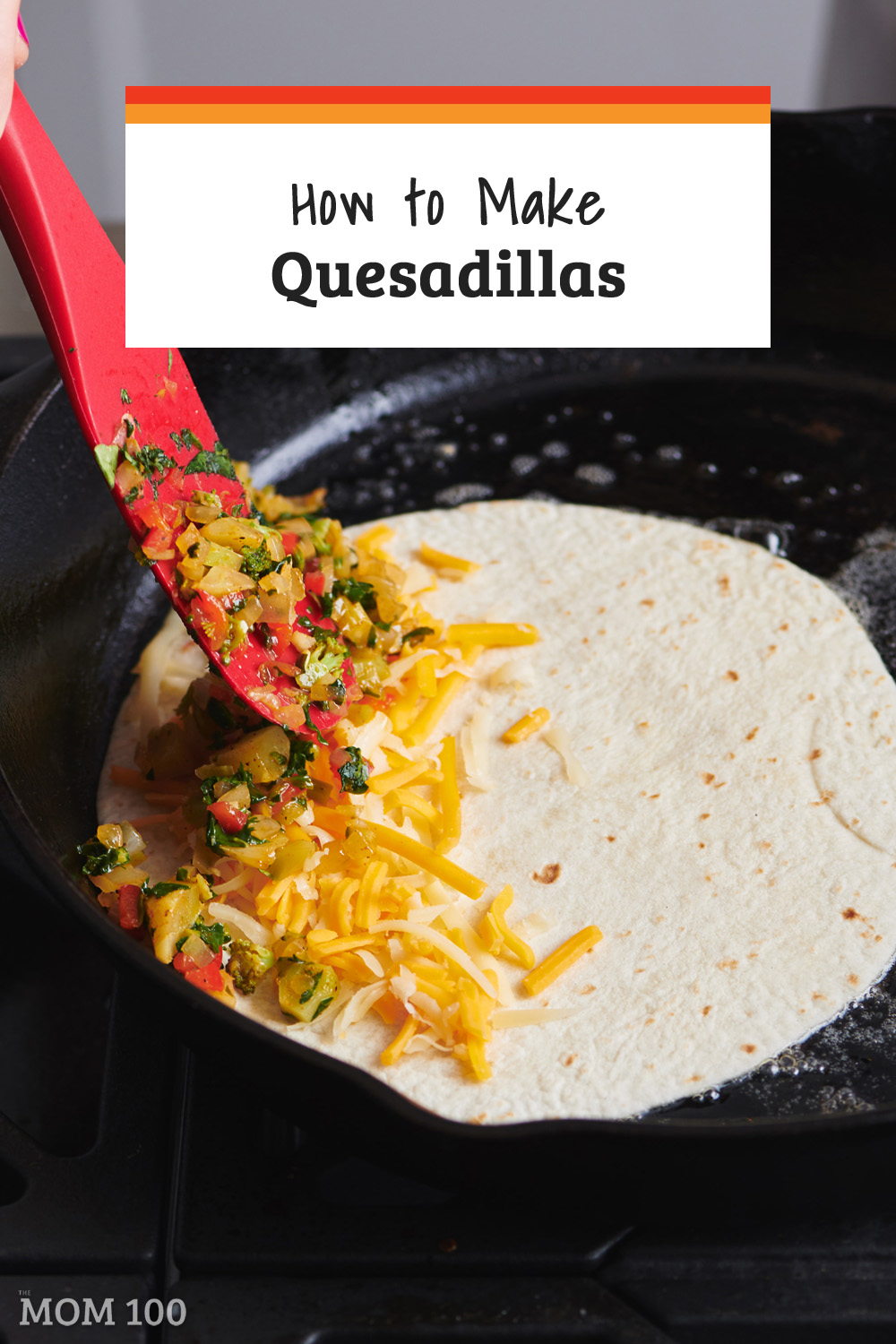 How to Make Quesadillas / Here\'s everything you need to know about how to make quesadillas. Make quesadillas on the stove, grill or broiler! #quesadillas #texmex #comfortfood