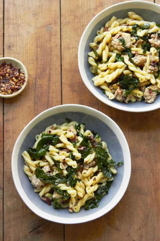 Campanelle Recipes / Mia / Katie Workman / themom100.com