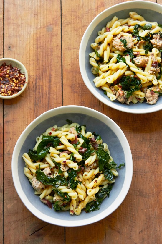Campanelle Recipes / Mia / Katie Workman / themom100.com