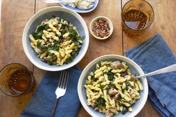 Simple Ingredient Pasta Recipes / Mia / Katie Workman / themom100.com