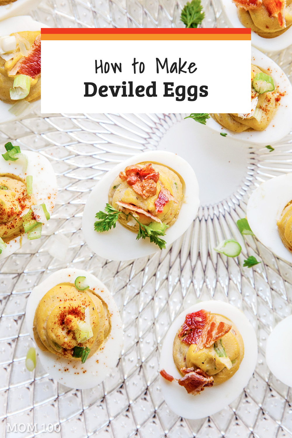 How to Make Deviled Eggs: This basic deviled eggs recipe is versatile and makes for a great appetizer. Experiment with different fillings. #appetizer #party #starters