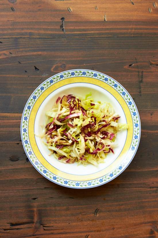 Endive Radicchio Salad / Mia / Katie Workman / themom100.com