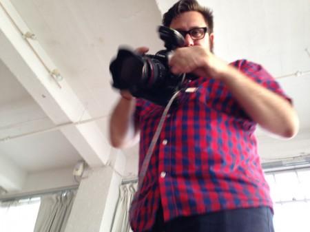 Me taking photo of Todd taking photo