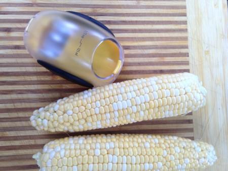 corn with stripper