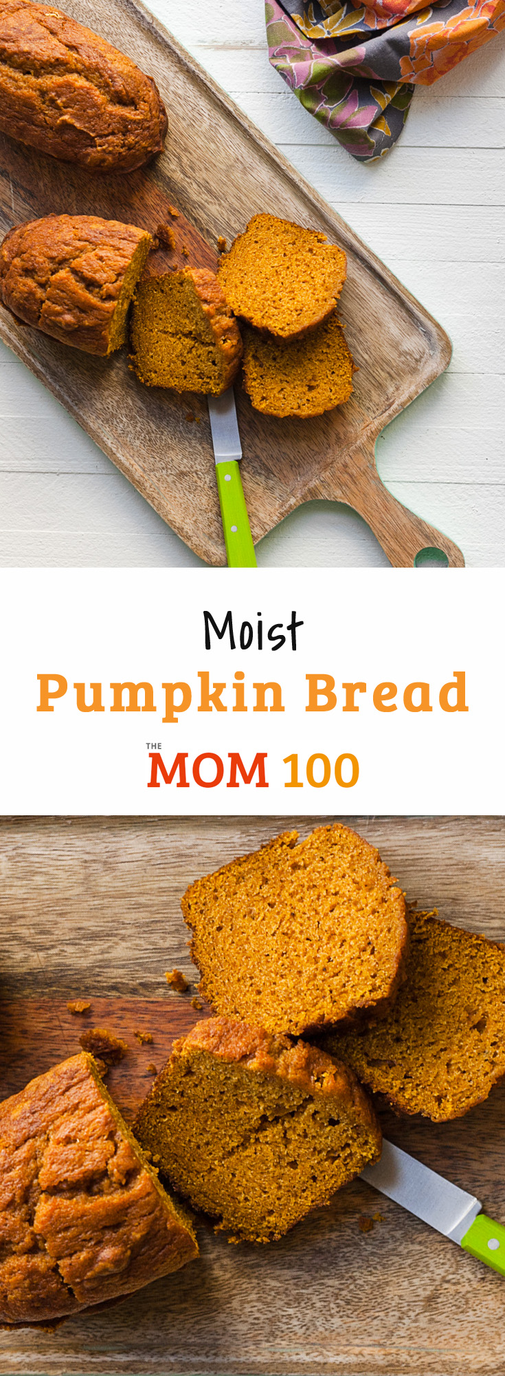 Moist Pumpkin Bread: This is the best pumpkin bread recipe, easy, flavorful, and moist. 10 minutes to get into the oven (and can make 4 mini loaves!).