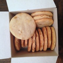 Shortbread Cookies with Crystallized Ginger