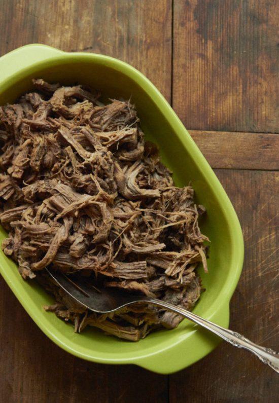 Barbacoa Beef in Slow Cooker / Mia / Katie Workman / themom100.com