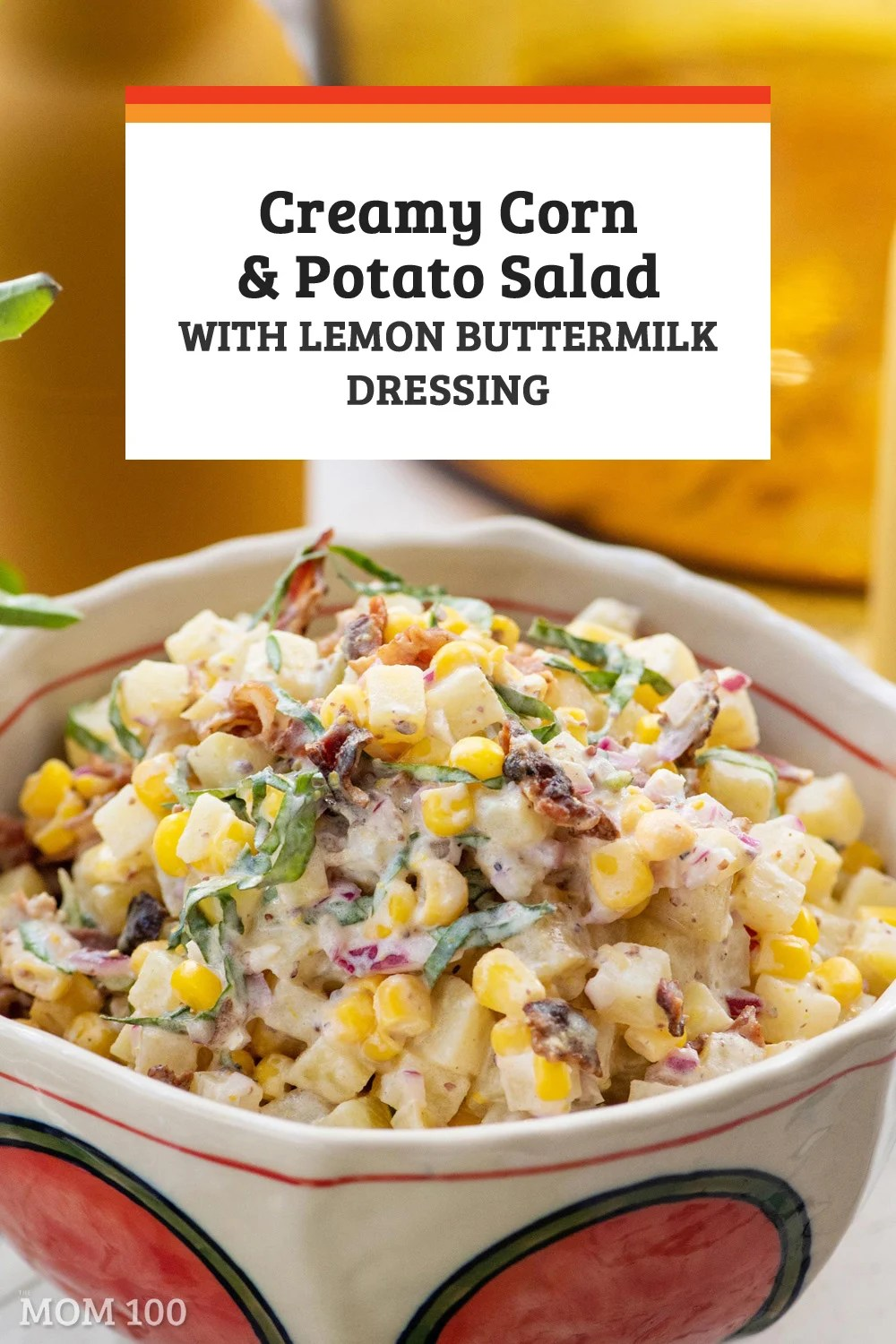 Creamy Corn and Potato Salad with Lemon Buttermilk Dressing: The creaminess of the potatoes is punctuated by the pop of the crispy corn and crumbled bacon.
