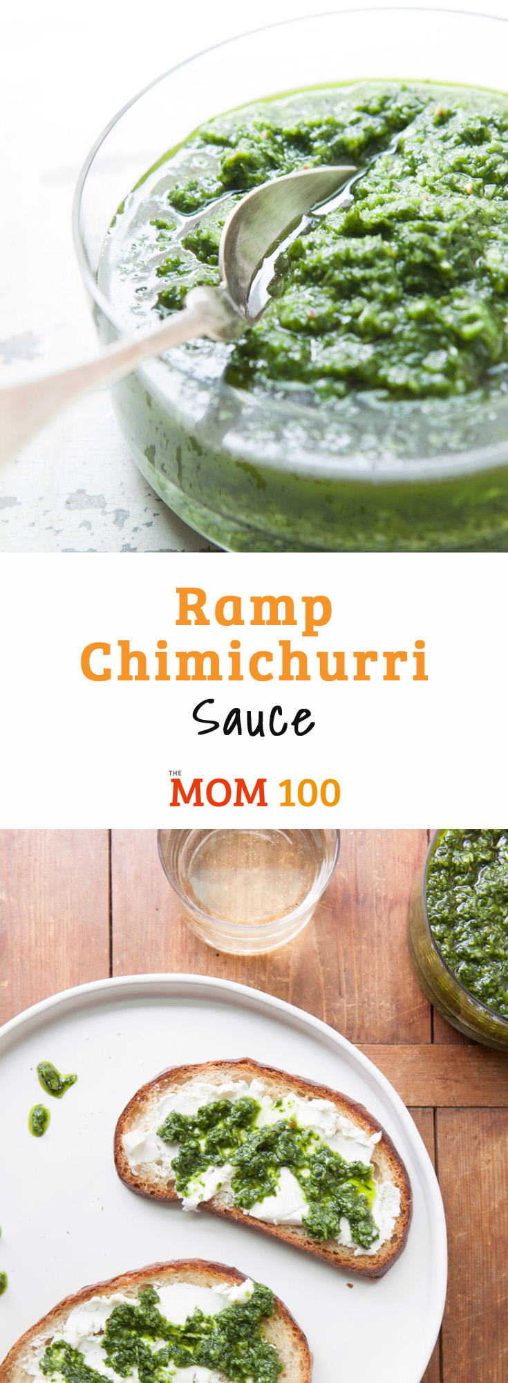 Ramp Chimichurri Sauce: Chimichurri sauce is a classic Argentinean sauce, typically served with steak. In this variation, spring ramps are used as a substitute for parsley and garlic.
