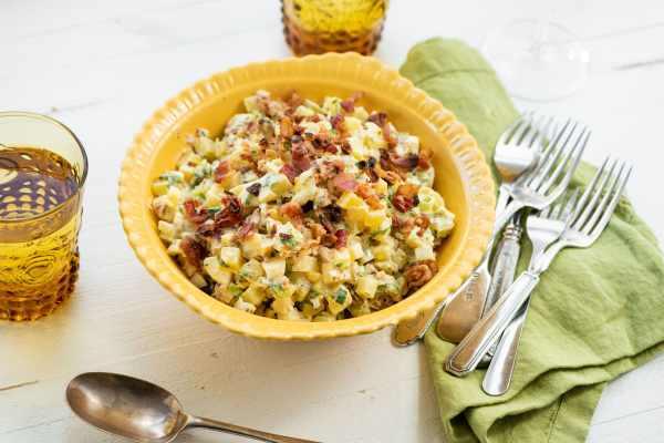 Egg and Potato Salad with Bacon / Cheyenne Cohen / Katie Workman / themom100.com