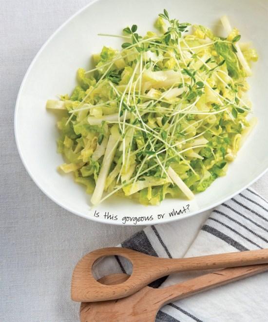 Light Crunchy Green Salad