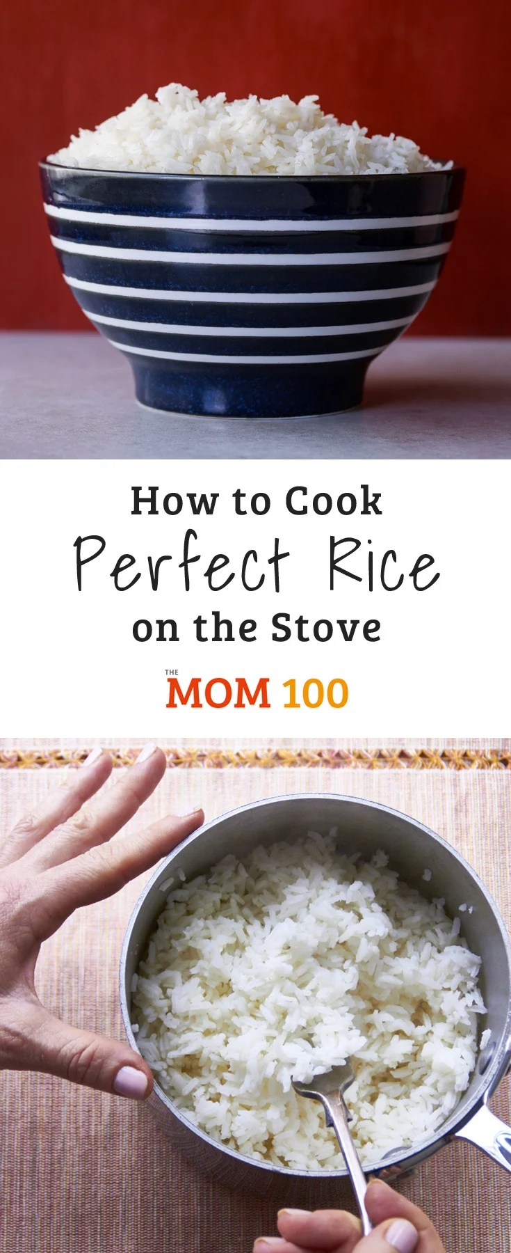 Rice in a double boiler. Simple Recipes