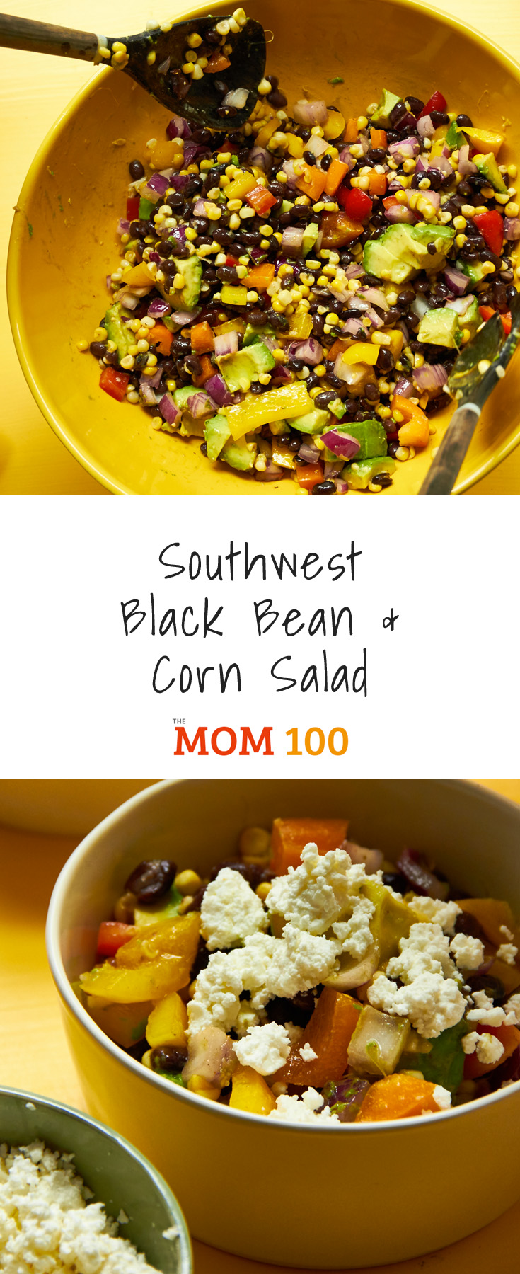 This Southwest Black Bean and corn salad is beautiful, easy, inexpensive, vegetarian, satisfying, perfect for buffets and potluck. That's a mouthful.
