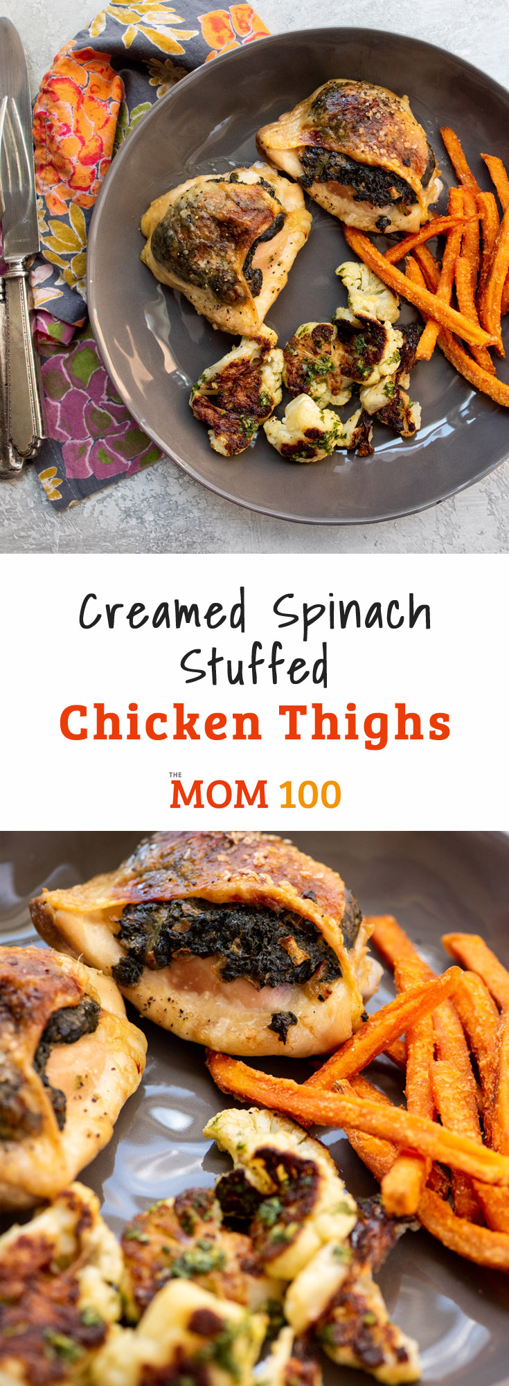 Try these Creamed Spinach Stuffed Chicken Thighs as a simple and slightly elegant way to prepare this humble but wonderful chicken part.