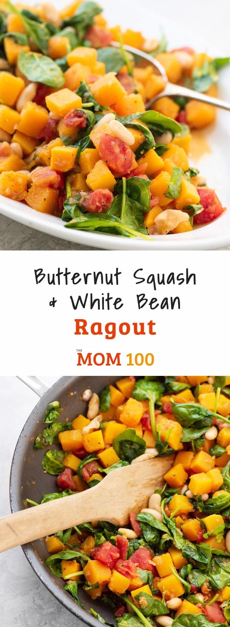 Butternut Squash and White Bean Ragout