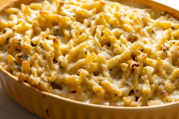 Creamy Four-Cheese Pasta