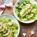 Avocado Salad with Creamy Miso Dressing / Mia Mueller Schoell / Katie Workman themom100.com