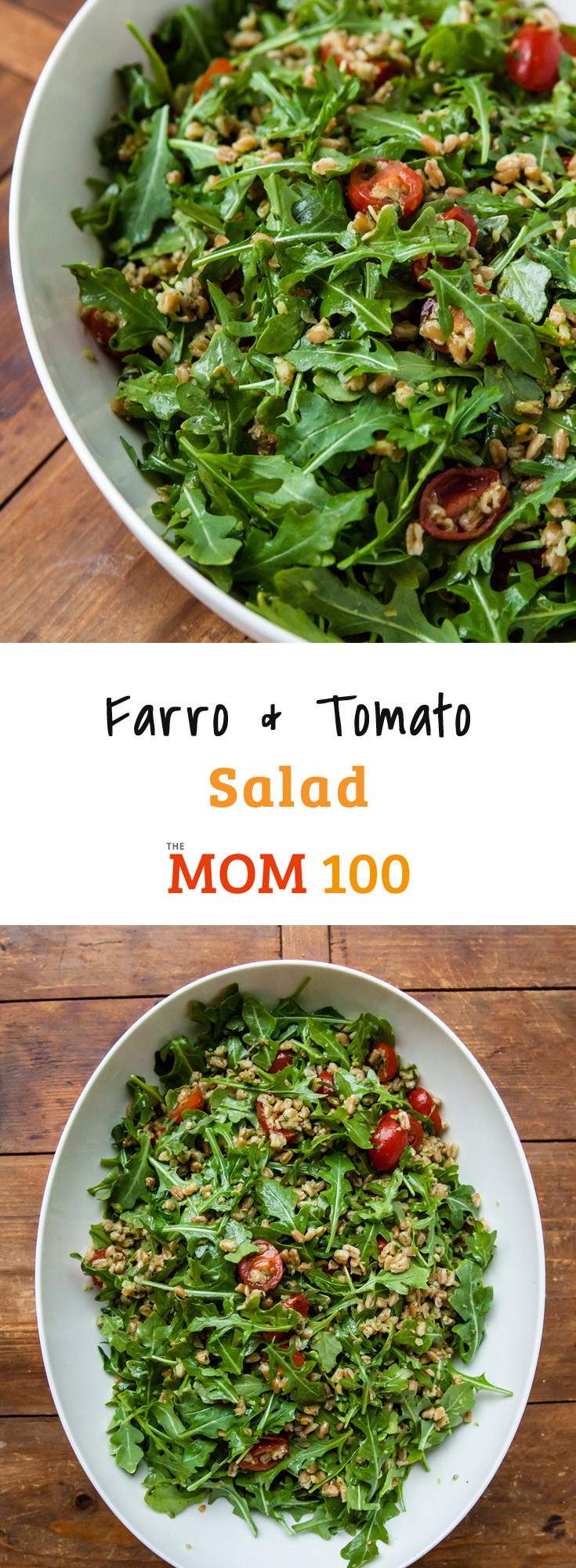 Farro and Tomato Salad: Farro is a hearty whole grain that can become a staple in your kitchen, appearing in everything from soup to casseroles to warm sides to salads like this.