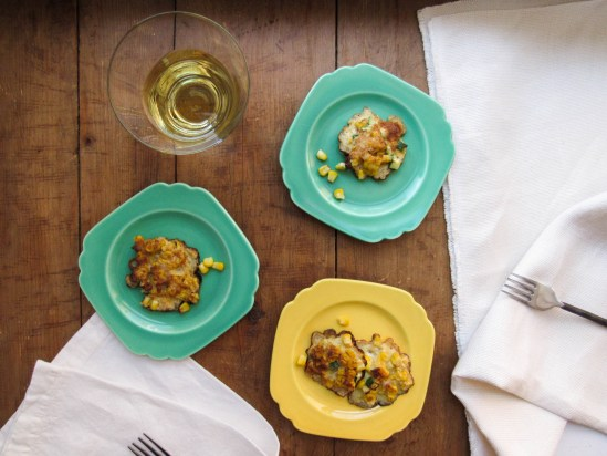 Corn and Zucchini Fritters / Lucy Beni / Katie Workman / themom100.com
