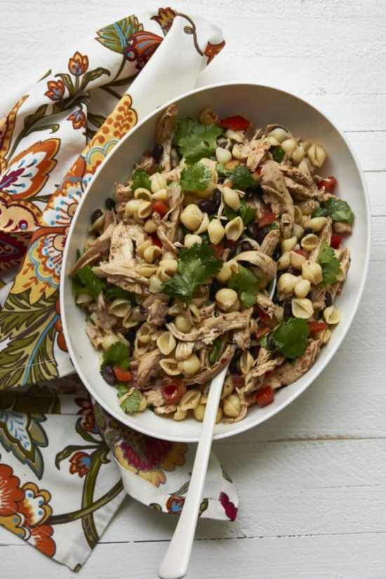 leftover chicken pasta salad/Chipotle Chicken Salad / Carrie Crow / Katie Workman / themom100.com