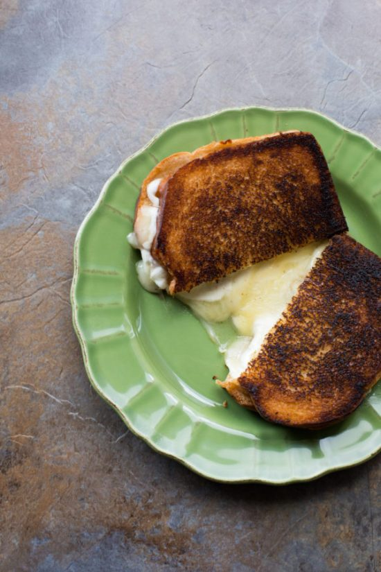 Grilled Cheese with Apple Jam / Sarah Crowder / Katie Workman / themom100.com
