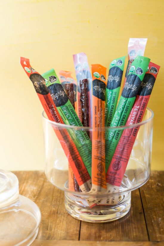 Eat Smartly and Carry a Small Stick … of 100% Grass-fed Beef / Sarah Crowder / Katie Workman / themom100.com