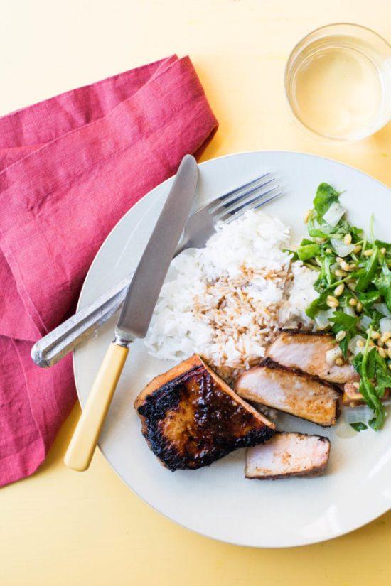 how do I make Korean Pork Chops / Sarah Crowder / Katie Workman / themom100.com