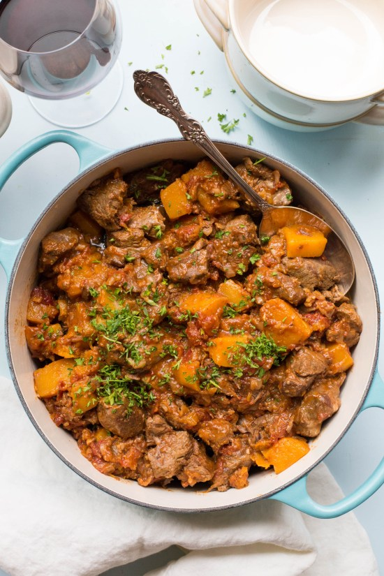 Moroccan Lamb and Butternut Squash Stew / Sarah Crowder / Katie Workman / themom100.com