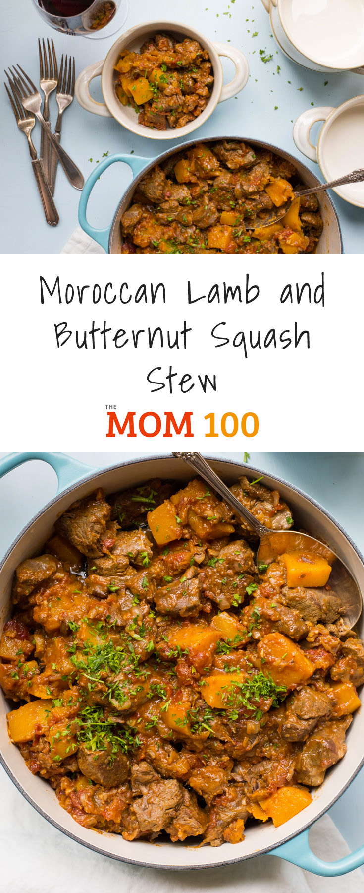 Moroccan Lamb and Butternut Squash Stew - an easy stew that is so lovely to come home to on a chilly night (and reheats like a dream).