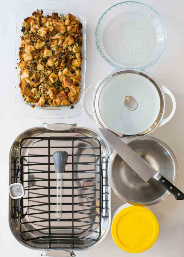 Thanksgiving Tools / Sarah Crowder / Katie Workman / themom100.com/7 Ways to Make Your Thanksgiving Easier, Or How to Kick Thanksgiving's Butt