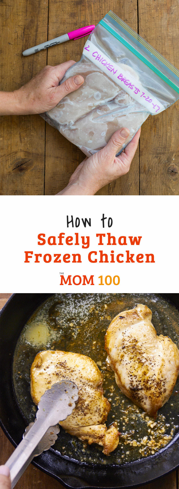 How to Safely Thaw Frozen Chicken: Getting chicken safely from a rock-hard frozen state to a thawed ready-to-cook state raises a lot of questions. Here are the answers.