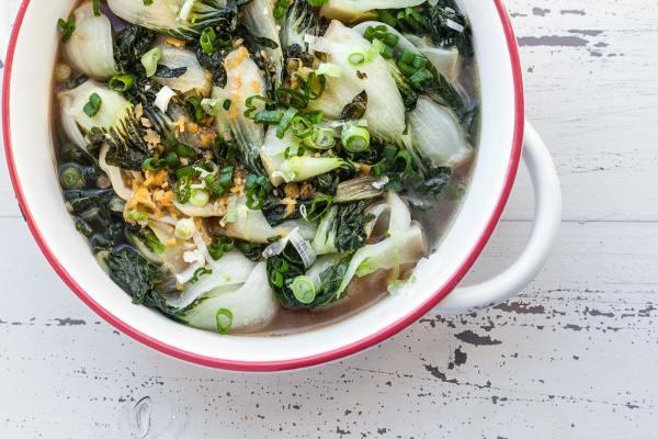 Bok Choy Recipe Ideas / Carrie Crow / Katie Workman / themom100.com