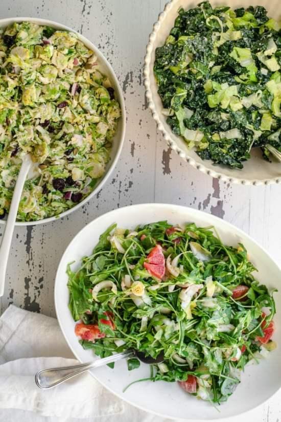 Endive Arugula and Orange Salad / Carrie Crow