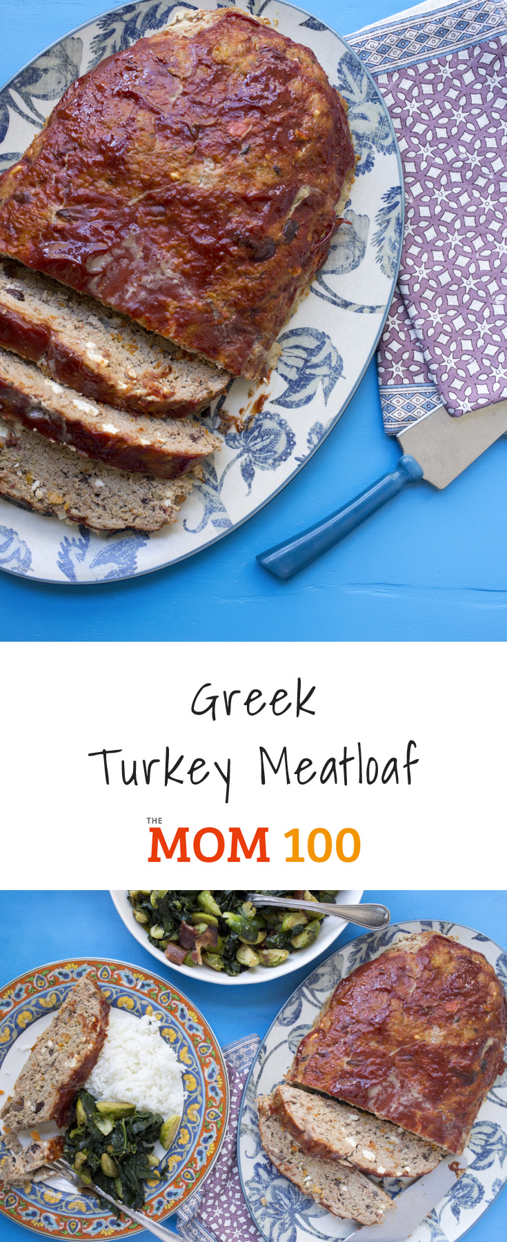 Greek Turkey Meatloaf: Feta, olives, and oregano transform this classic meatloaf recipe into a super, duper exciting dish.