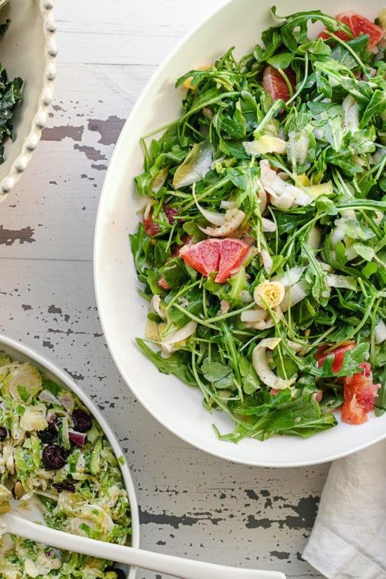 Endive Arugula and Orange Salad