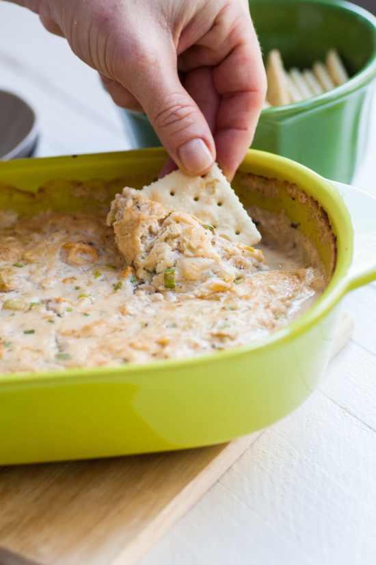 Cream Cheese Hot Clam Dip