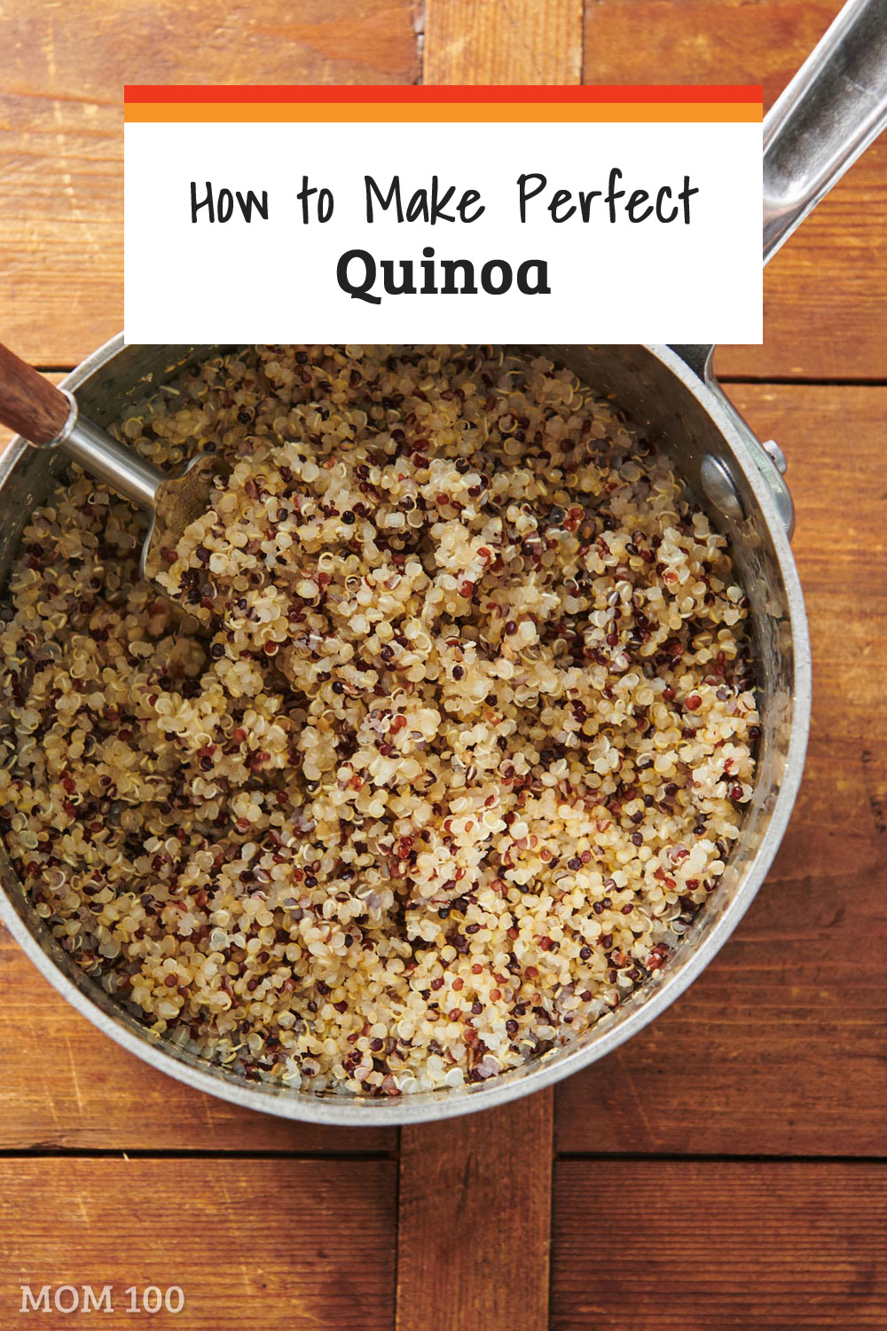 How to Make Perfect Quinoa on the Stove: A step-by-step guide, with photos and a video! for how to cook perfect quinoa every time.