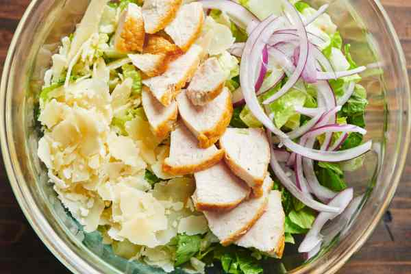 Grilled Chicken Caesar Salad Wraps