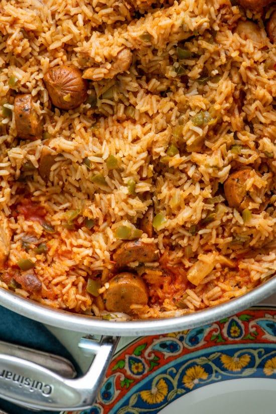 Jambalaya Ingredients and Recipe / Katie Workman / themom100.com / Photo by Cheyenne Cohen