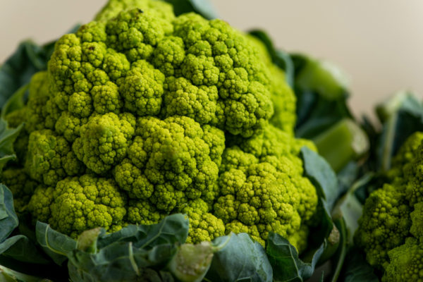 How Do You Know Which Broccoflower to Buy (and Where is Broccoflower in the Market)? / Katie Workman / themom100.com / Photo by Cheyenne Cohen