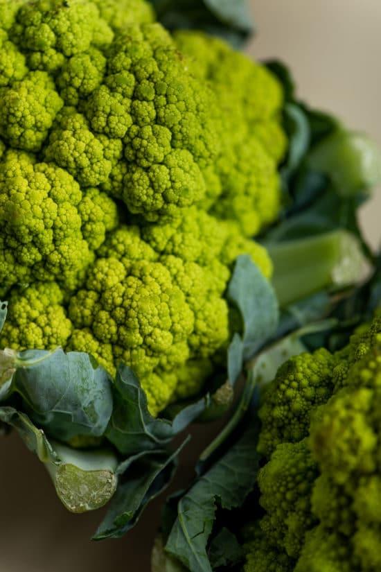 How to Cook Broccoflower / Katie Workman / themom100.com / Photo by Cheyenne Cohen