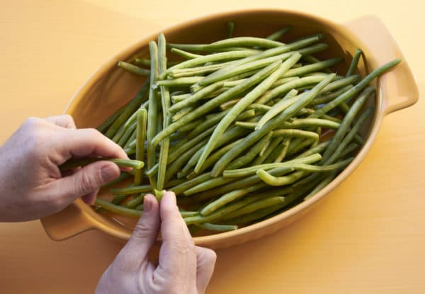 Trimming the Green Beans