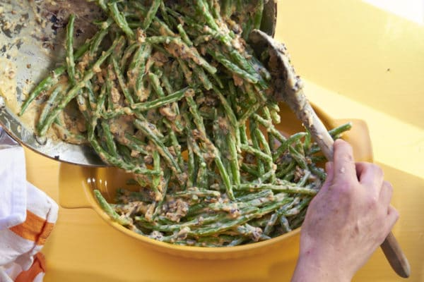 how to make green bean casserole without canned soup