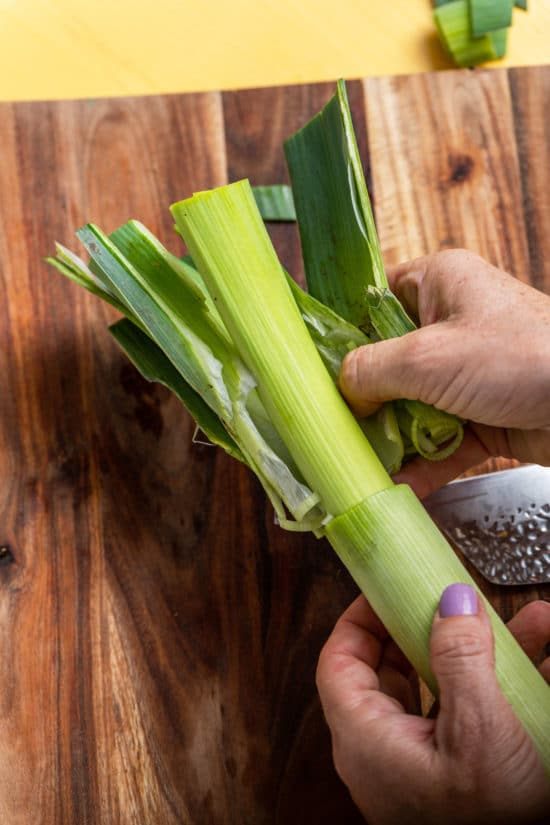 How to Cook Leeks