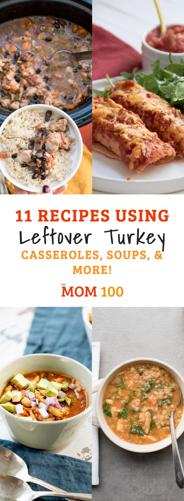 Thanksgiving is like the Olympics of leftover repurposing. Here are 11 Casseroles, Soups (and More) Recipes using leftover turkey.