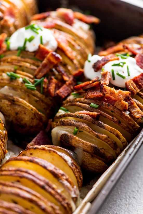 hasselback potato recipe